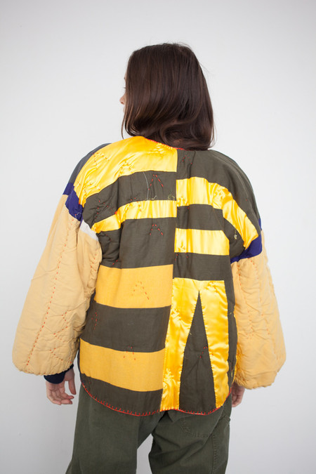 CMC Quilted Jacket VIII Gold Checker