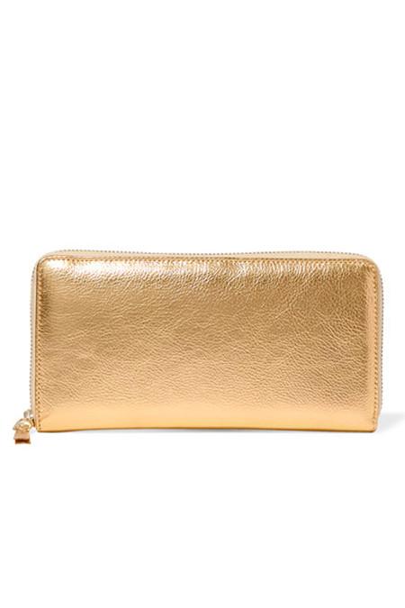 Comme des Garçons Leather SA-0110G Wallet - Gold