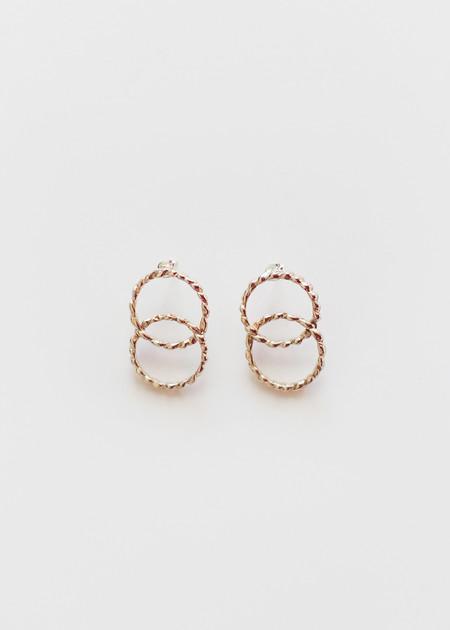 open house projects Double Twist Earrings