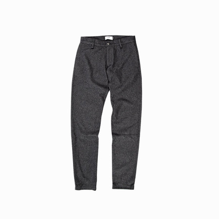 Unisex Muttonhead PANTALON EN LAINE CHARCOAL / CHARCOAL WINTER WOOL TROUSER