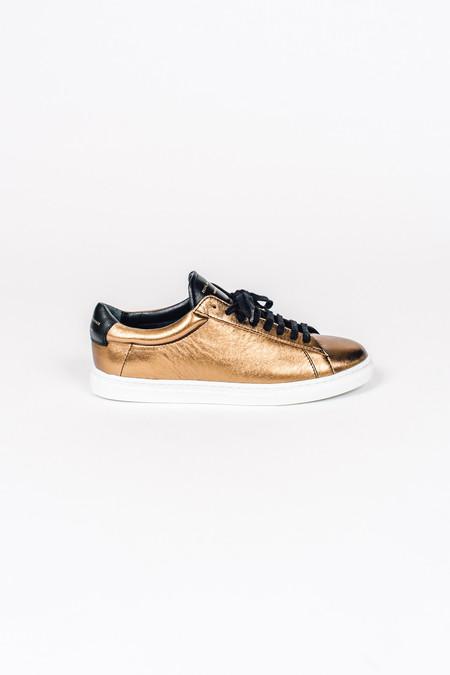 Zespa Bronze Black Sneaker