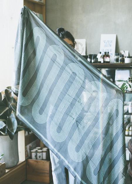 Block Shop Textiles - Sidewinder Pacific Scarf