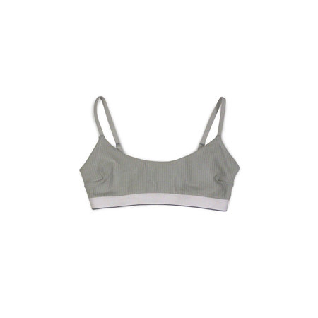 Baserange Emily Bra in Dusty Blue