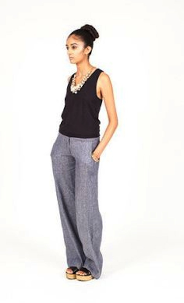 Standing Armed Lillium Trousers