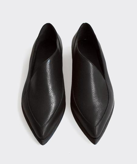 Wal & Pai Fargo Loafers - Black Marbella