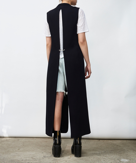 Nomia Long Slit-Back Vest