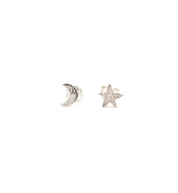 Odette New York Odette Silver Moon & Star Studs