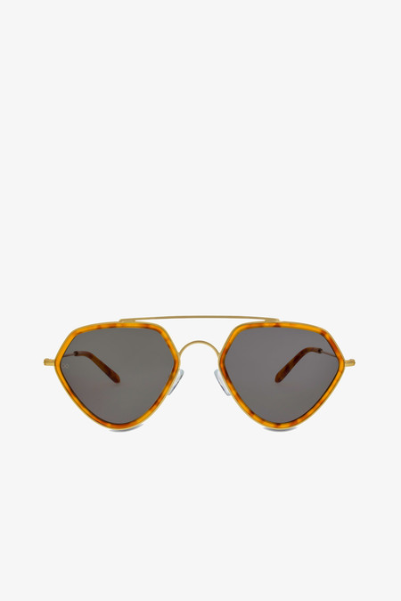 Smoke x Mirrors Geo II Sunglasses in Ginger Tortoise
