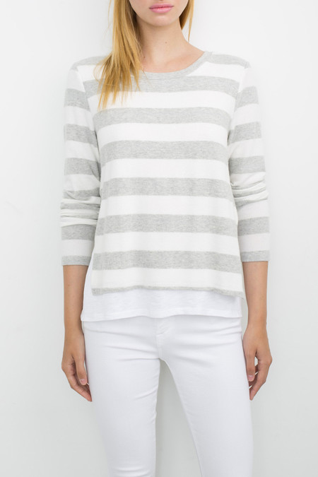 Generation Love Major Double Layer Top | Stripes