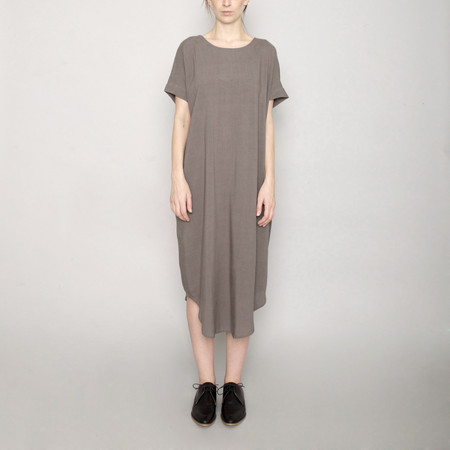 7115 by Szeki Signature T-Shirt Reversible Maxi - Gray