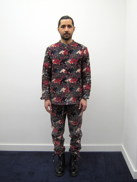 Unisex ZED Catch All Trouser, Crazy Silk/Linen