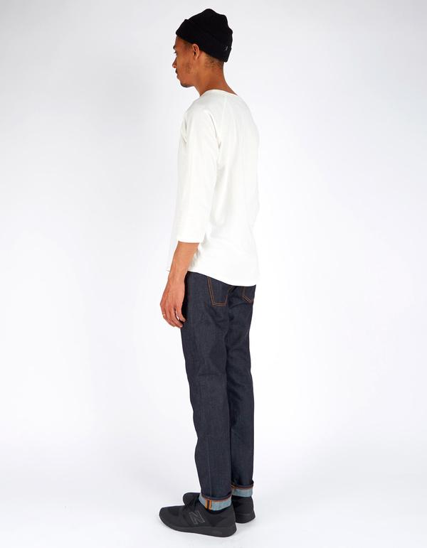Men's Nudie Brute Knute Dry Navy Comfort Jean