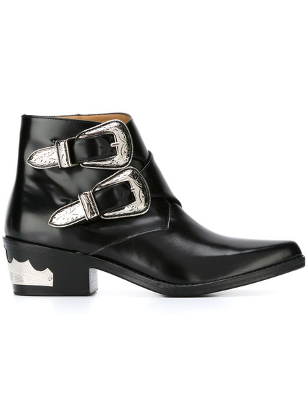 Toga Ankle Buckle Boot