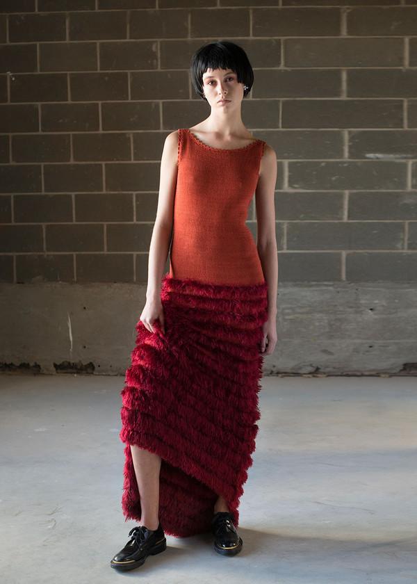 Malorie Urbanovitch Hand Knit Cammielle Dress