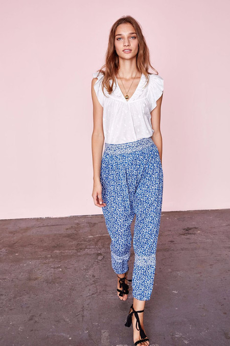 Ulla Johnson SUKI PANT - TINY FLORAL