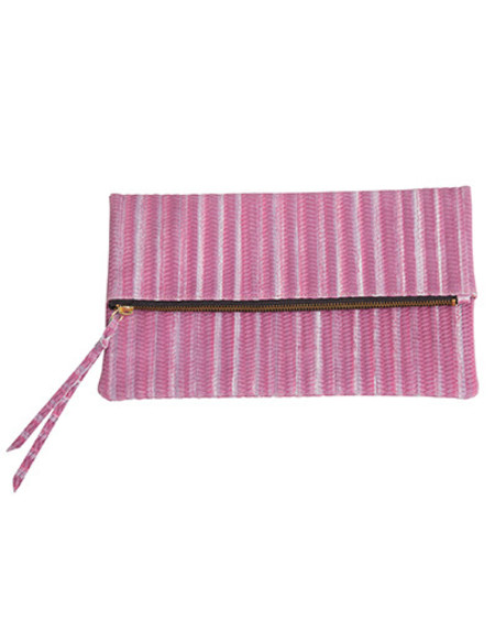 Oliveve anastasia in lilac woven cow leather