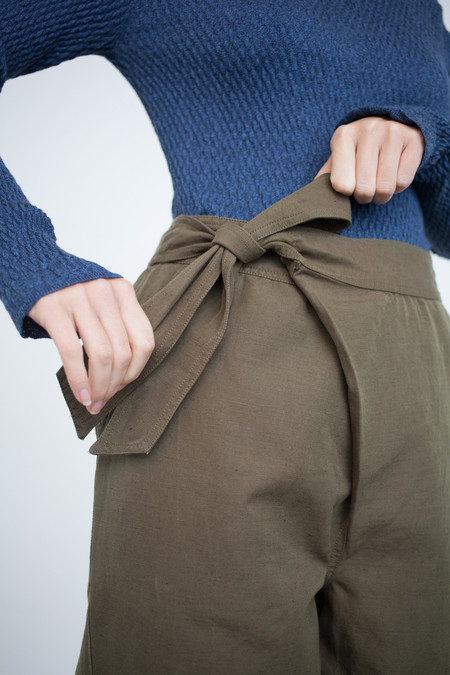 Ulla Johnson Adela Pant in Olive