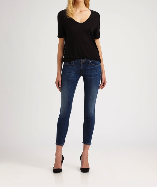 Krista Super Skinny Crop Jeans