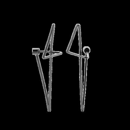 Bolt Stud Wrap Earrings || Meadowlark