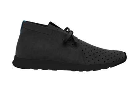 Native Shoes Apollo Chukka  (Jiffy Black/Jiffy Black)