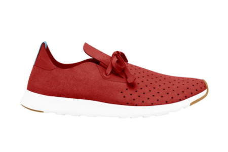 Men's Native Shoes Apollo Moc (Torch Red)