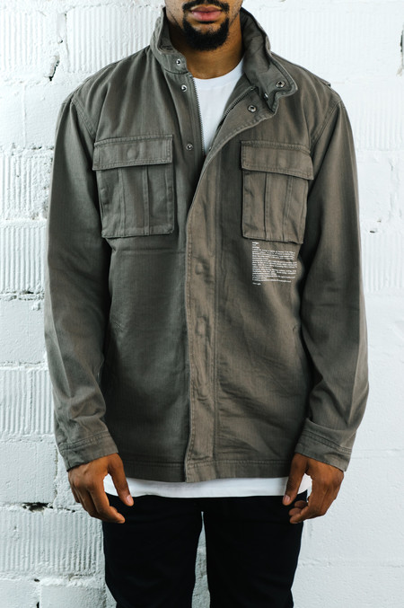 I Love Ugly Fatigue Jacket