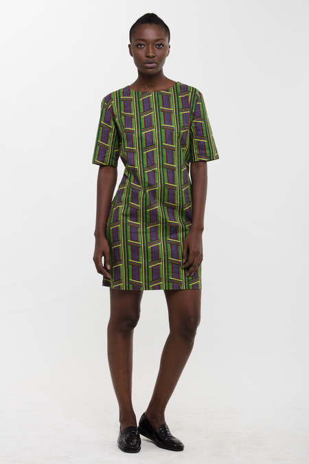 Osei-Duro Muto Dress in Jughead