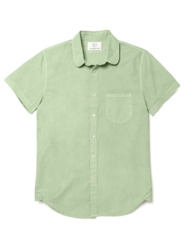 Olderbrother Short Sleeve Hemp Button Down