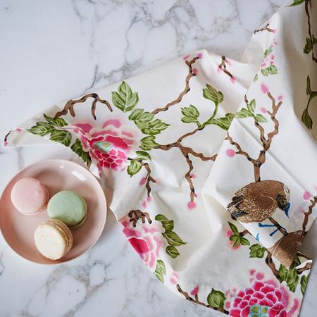 Erica Tanov lovebird napkin set