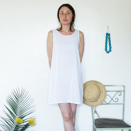 Me and Arrow Lightweight Cotton Tank Dress