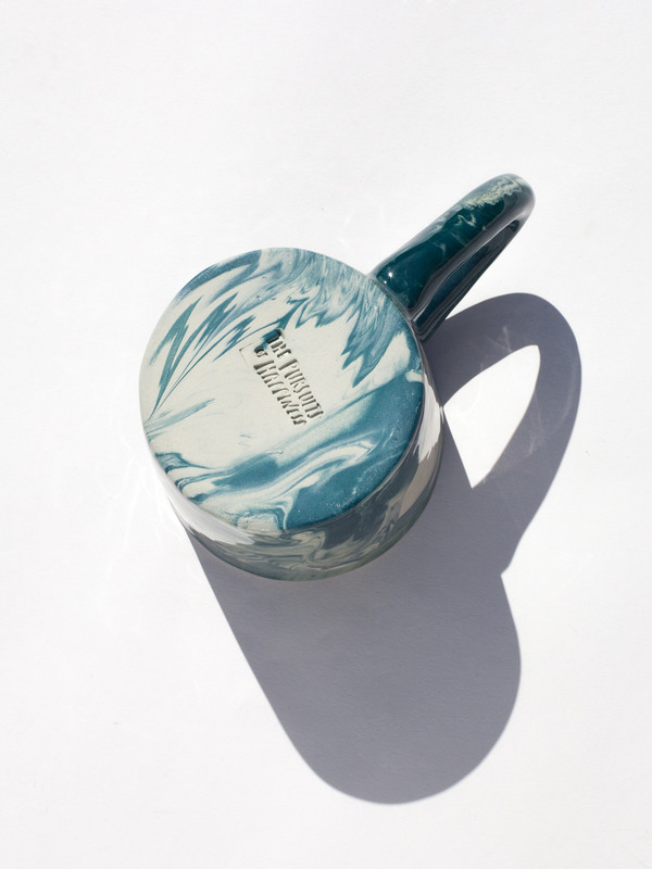 The Pursuits of Happiness Marbled Mug