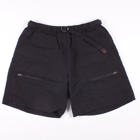 Battenwear Camp Shorts - Black Nylon Taslan