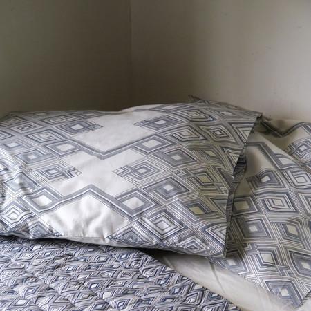 Erica Tanov large diamond pillowcases