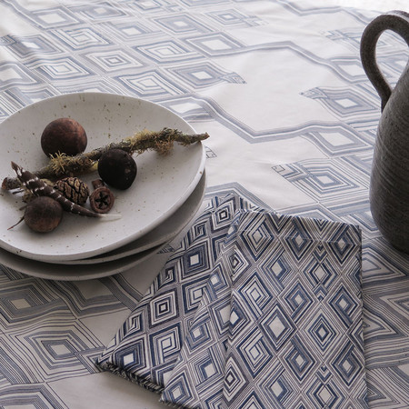 Erica Tanov large diamond tablecloth