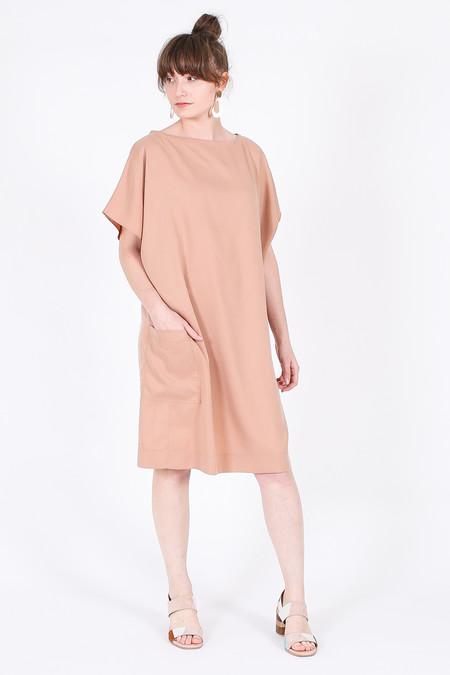Elise Ballegeer Sonia Dress in Rose Gold