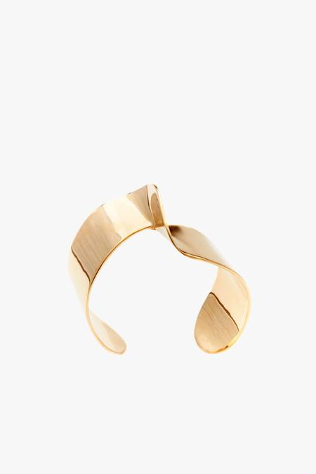 Odette New York Pivot Cuff in Brass