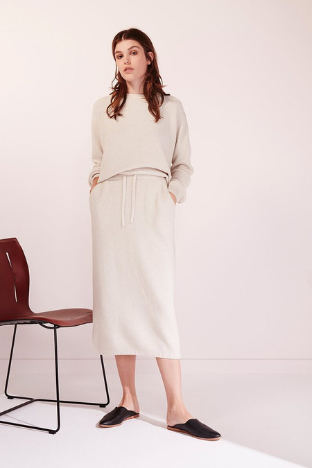 KOWTOW Freeway Skirt in Natural Marle
