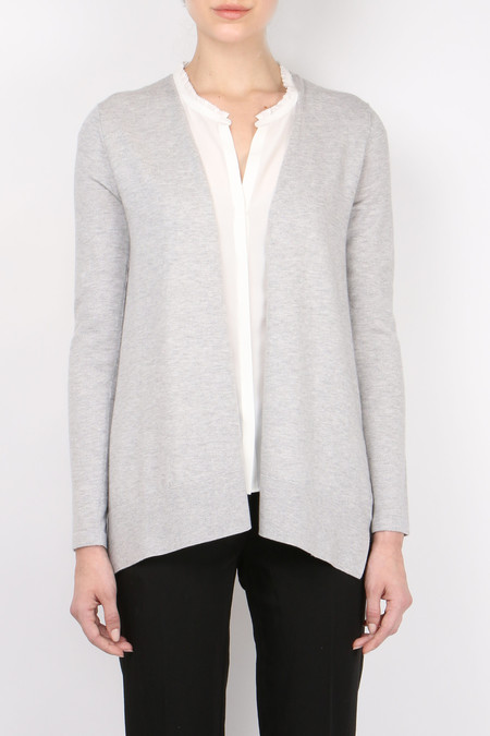 Allude Open Swing Cardigan