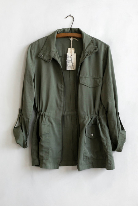 Sunday Supply Co. Tencel Military Jacket