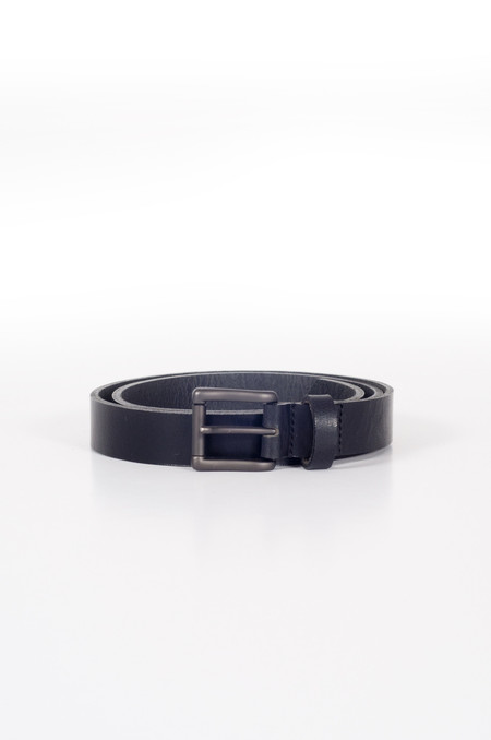 Naked & Famous Buffalo Belt Black