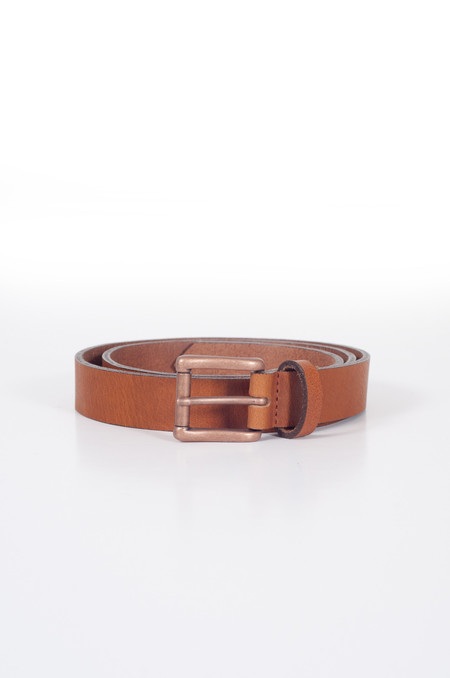 Naked & Famous Buffalo Belt Tan