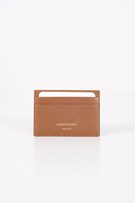 Common Projects Multi Cardholder Saffiano Brown