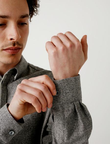 Stephan Schneider Shirt Serpentine Grey Silk