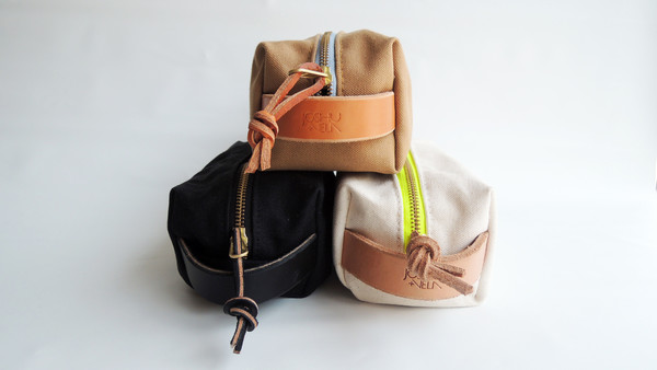 Joshu + Vela Dopp Kit - Natural