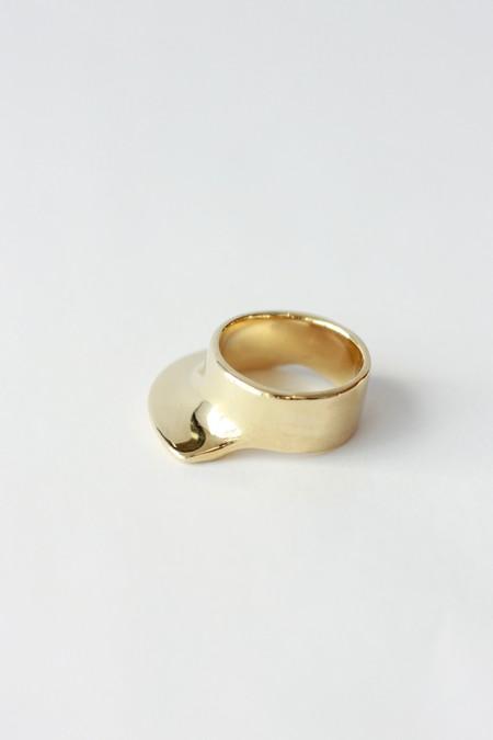 Ariana Boussard-Reifel Isidora Ring in Brass