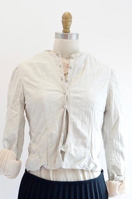 Hazel Brown Pixie Jacket in Ivory