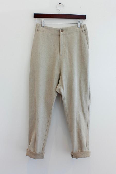 pas de calais Linen Pant 8157