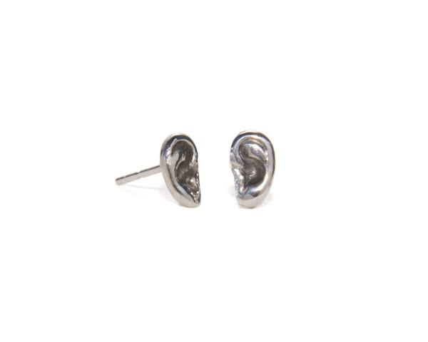Winden Hear Stud Earrings SS