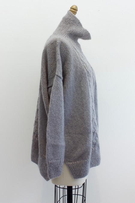 Hazel Brown Wool Sweater 16.3.10