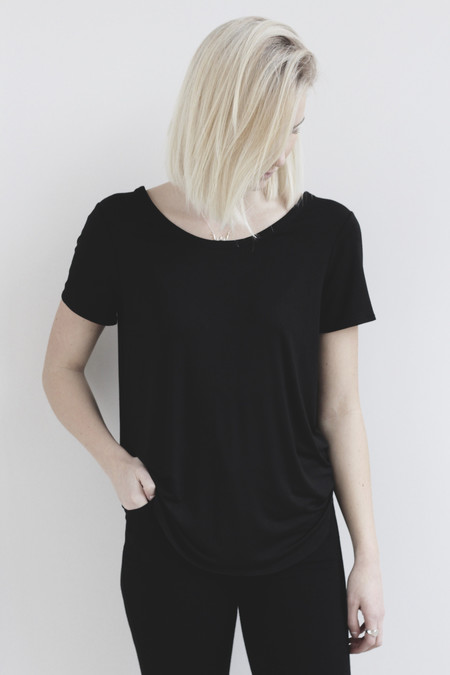 Chaser LA Chaser Short Sleeve High lo tee